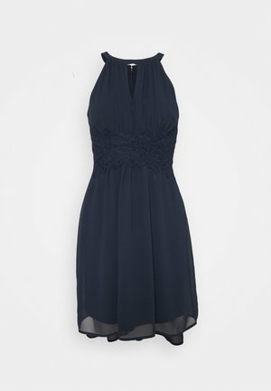 VIMILINA HALTERNECK DRESS - Cocktail dress / Party dress - total eclipse