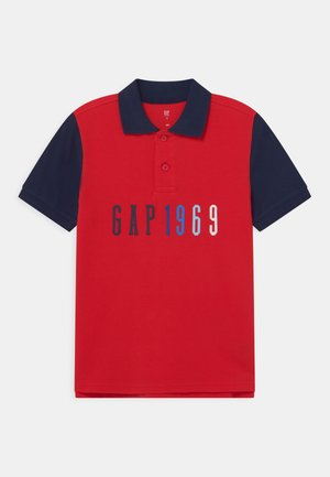 BOY LOGO  - Polo shirt - pure red