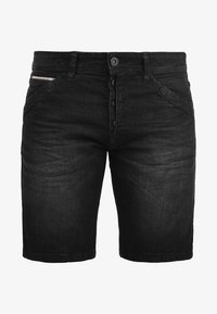 INDICODE JEANS - ALESSIO - Denim shorts - black - 5