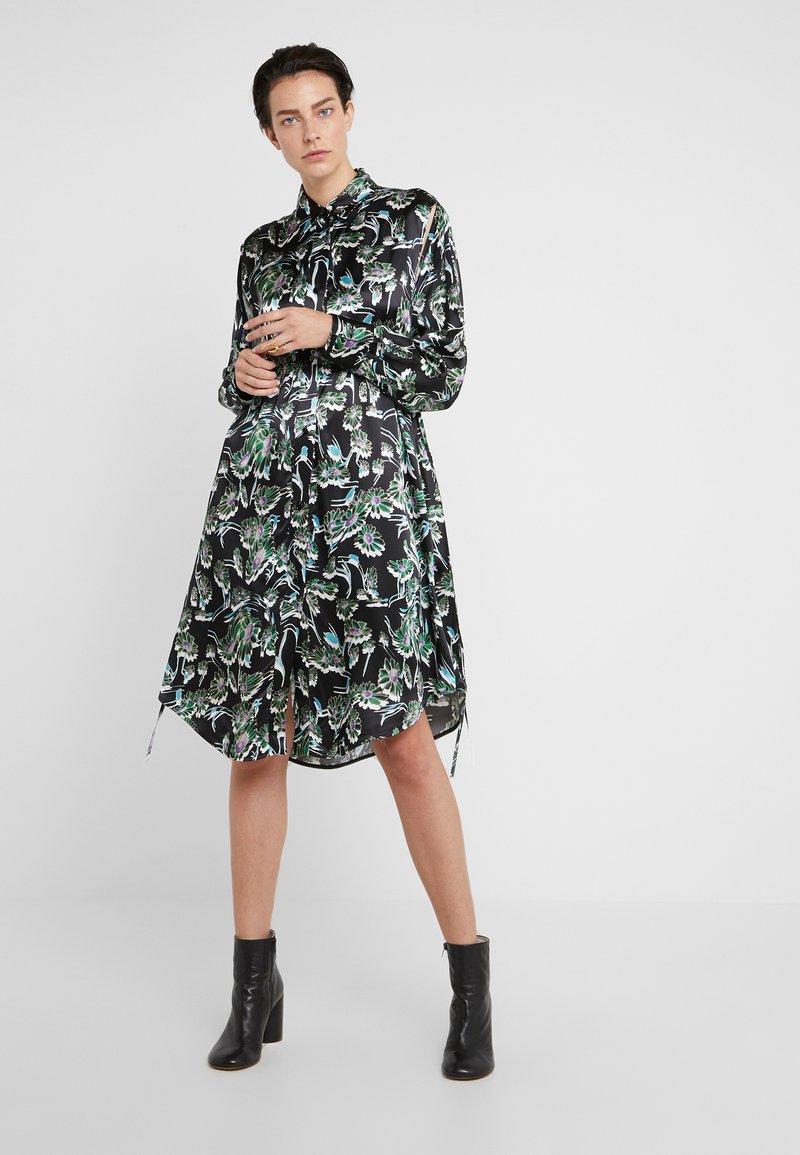 MM6 Maison Margiela - Denní šaty - black