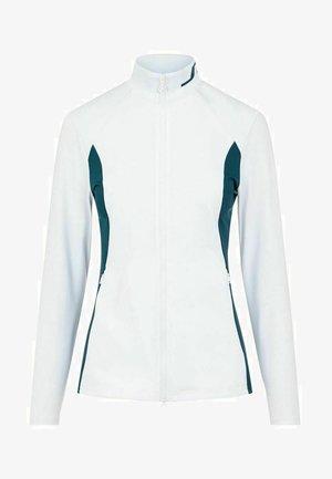 THERESE MID LAYER - Zip-up sweatshirt - white