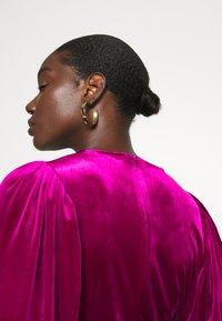 Closet - WRAP OVER MINI DRESS - Cocktail dress / Party dress - pink - 6