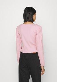 Monki - Cardigan - pink - 2