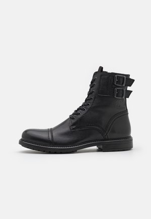 JFWSHELBY DOUBLE STRAP BOOT - Stivaletti stringati - anthracite