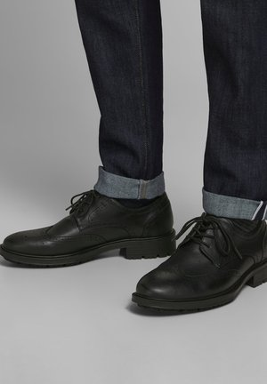 Casual lace-ups - anthracite
