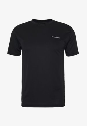 VERNON PERFORMANCE TEE - T-shirts - black