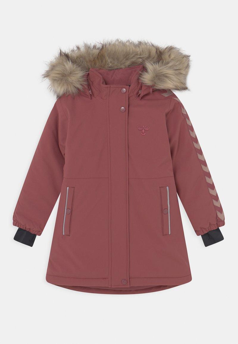 Hummel - LEAF COAT - Winterjas - roan rouge