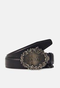 Versace Jeans Couture - Belt - black/gunmetal - 1