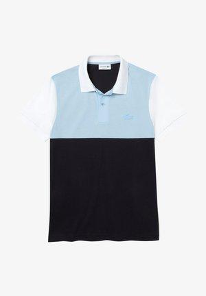 Polo shirt - bleu marine/bleu clair/blanc