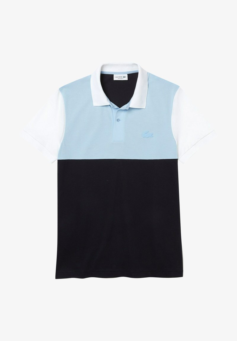 Lacoste - Polo shirt - bleu marine/bleu clair/blanc