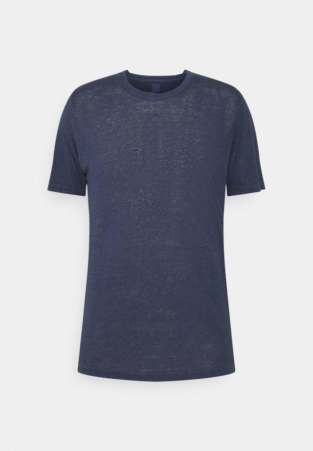 T-shirt - bas - blue navy
