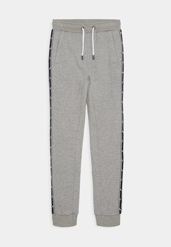 SHIELD TAPE PANTS - Tracksuit bottoms - grey antares