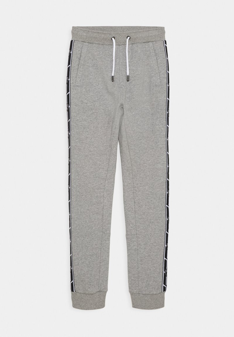 Automobili Lamborghini Kidswear - SHIELD TAPE PANTS - Tracksuit bottoms - grey antares