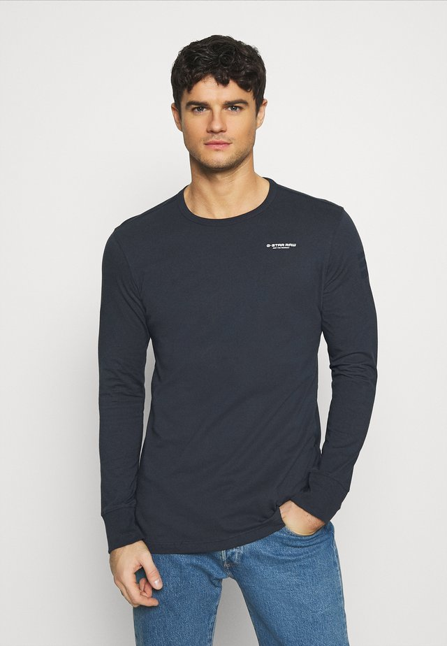 BASE R T L\S - Camiseta de manga larga - compact jersey o - legion blue