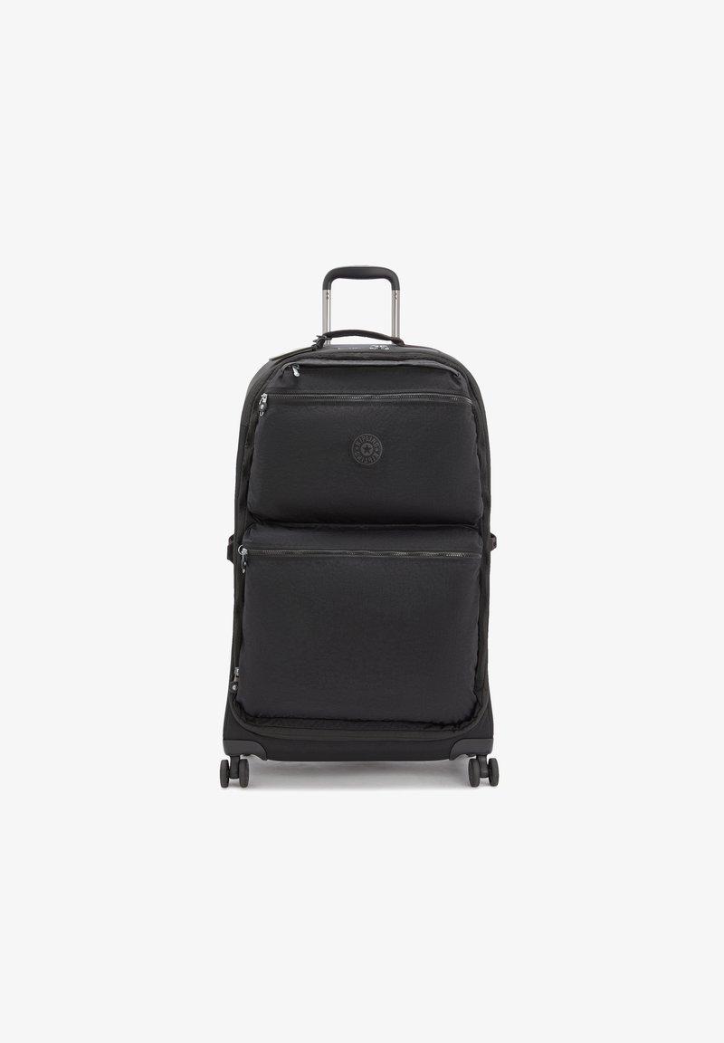 Kipling - UPRIGHT  - Wheeled suitcase - black noir