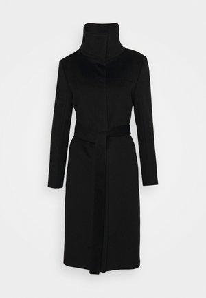 CORIN - Klassischer Mantel - black