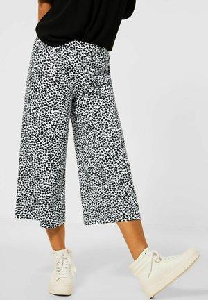 MIT WIDE LEGS - Trousers - grau