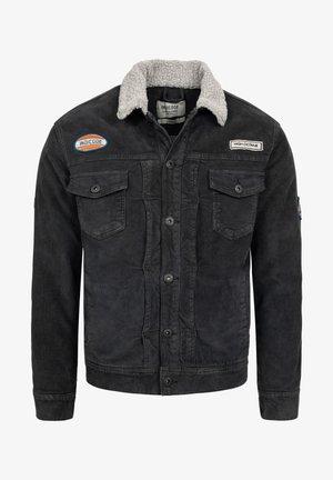 BEARD - Denim jacket - black