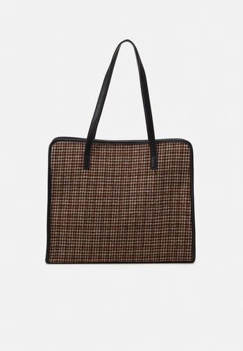 MATERIAL - Tote bag - marrone