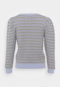 ONLY - ONLHONEY STRIPE - Jumper - cashmere blue/pumice stone - 1