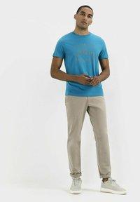 camel active - Print T-shirt - ocean blue - 1