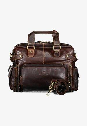 Across body bag - dark-brown plain
