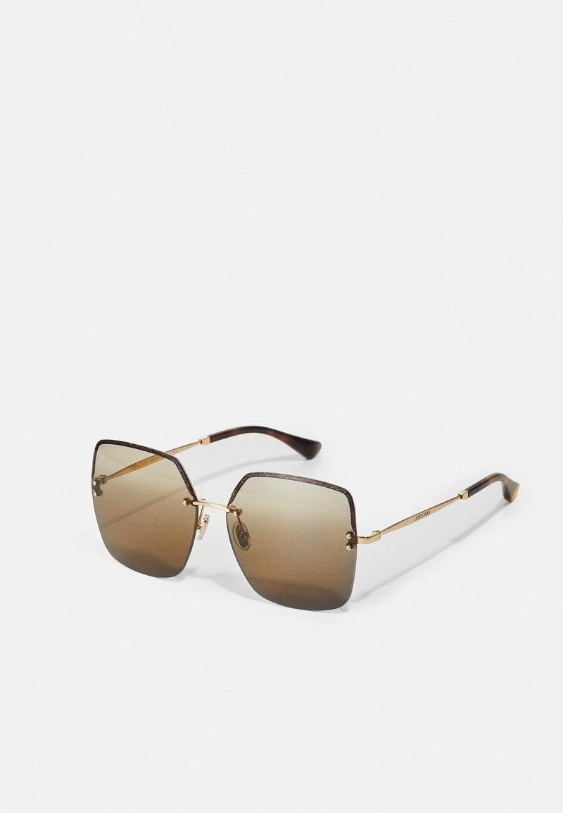 Jimmy Choo - TAVI - Occhiali da sole - gold-coloured/brown