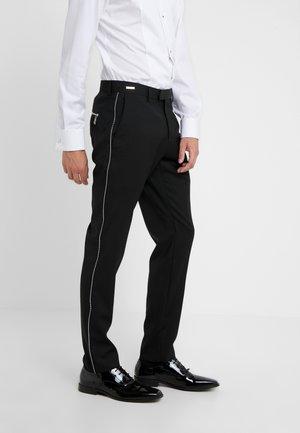 TROUSER - Suit trousers - black