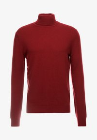 Benetton - BASIC ROLL NECK - Pullover - bordeaux - 3