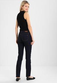 Tommy Hilfiger - ROME CHRISSY - Straight leg jeans - dark-blue denim - 3