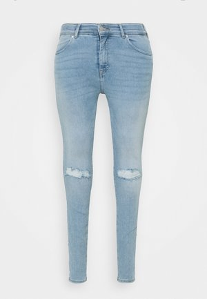 LEXY - Jeans Skinny Fit - icicle blue ripped
