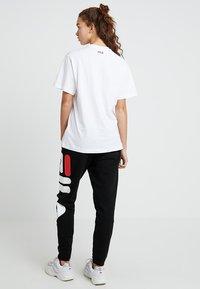 Fila - PURE - Print T-shirt - bright white - 2