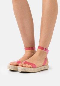 BEBO - SLAVA - Platform sandals - pink - 0