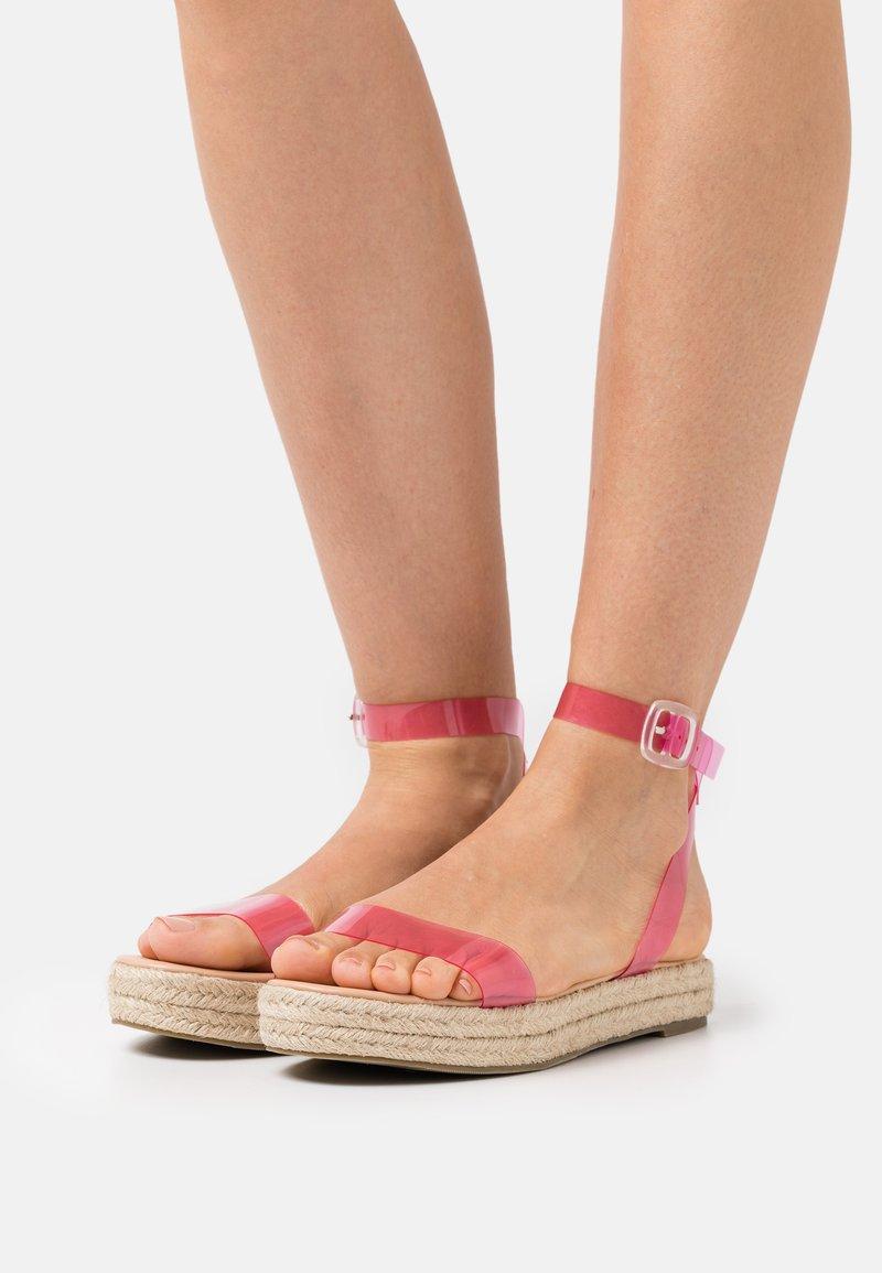 BEBO - SLAVA - Platform sandals - pink