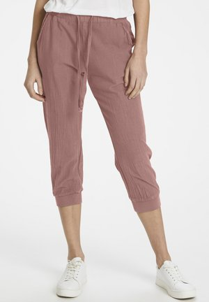 Tracksuit bottoms - old rose