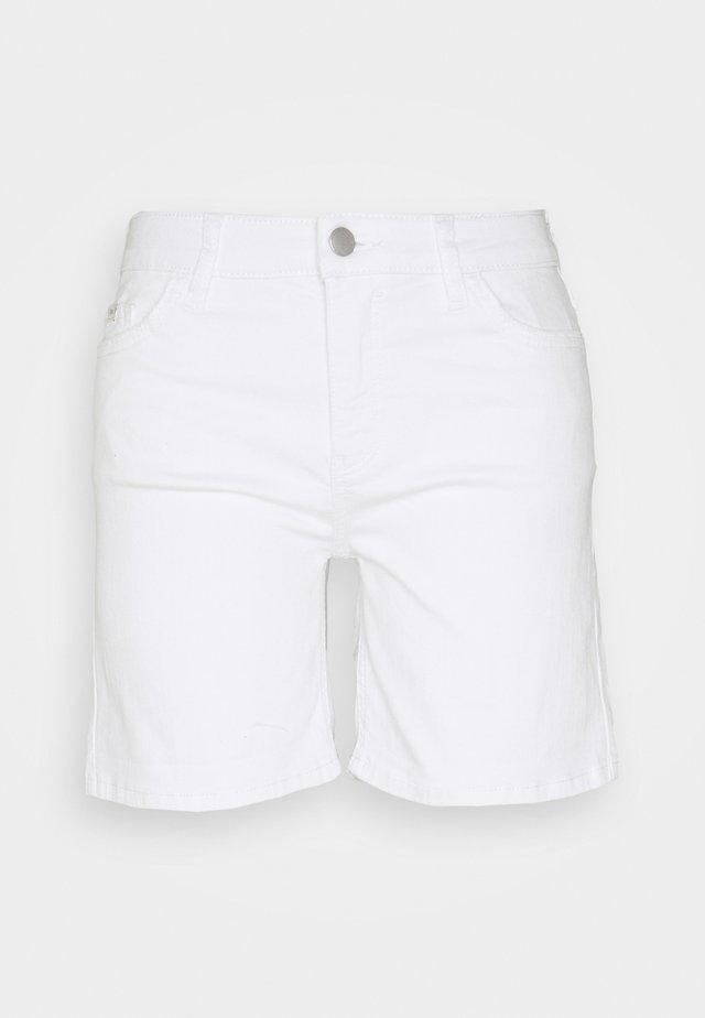 Džínové kraťasy - white