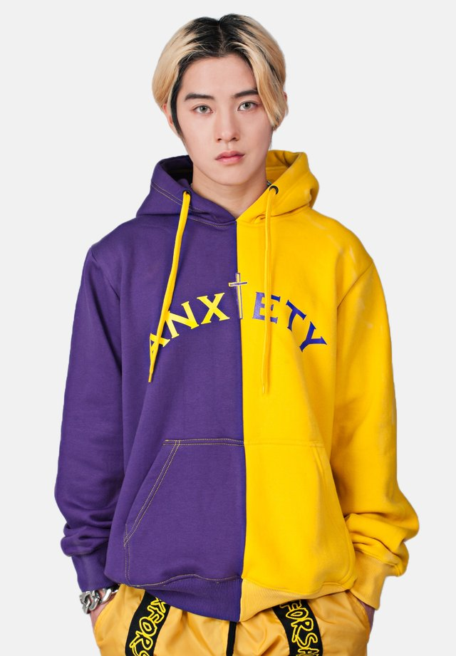 ANXIETY  - Hoodie - dark purple