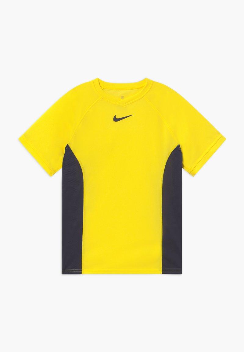 Nike Performance - DRY - Print T-shirt - opti yellow/gridiron