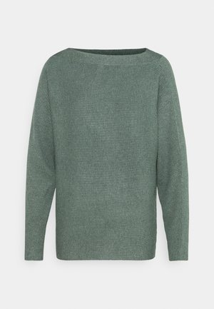 DOLLIE - Strickpullover - shadow green melange