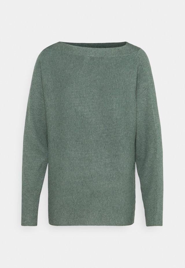DOLLIE - Sweter - shadow green melange
