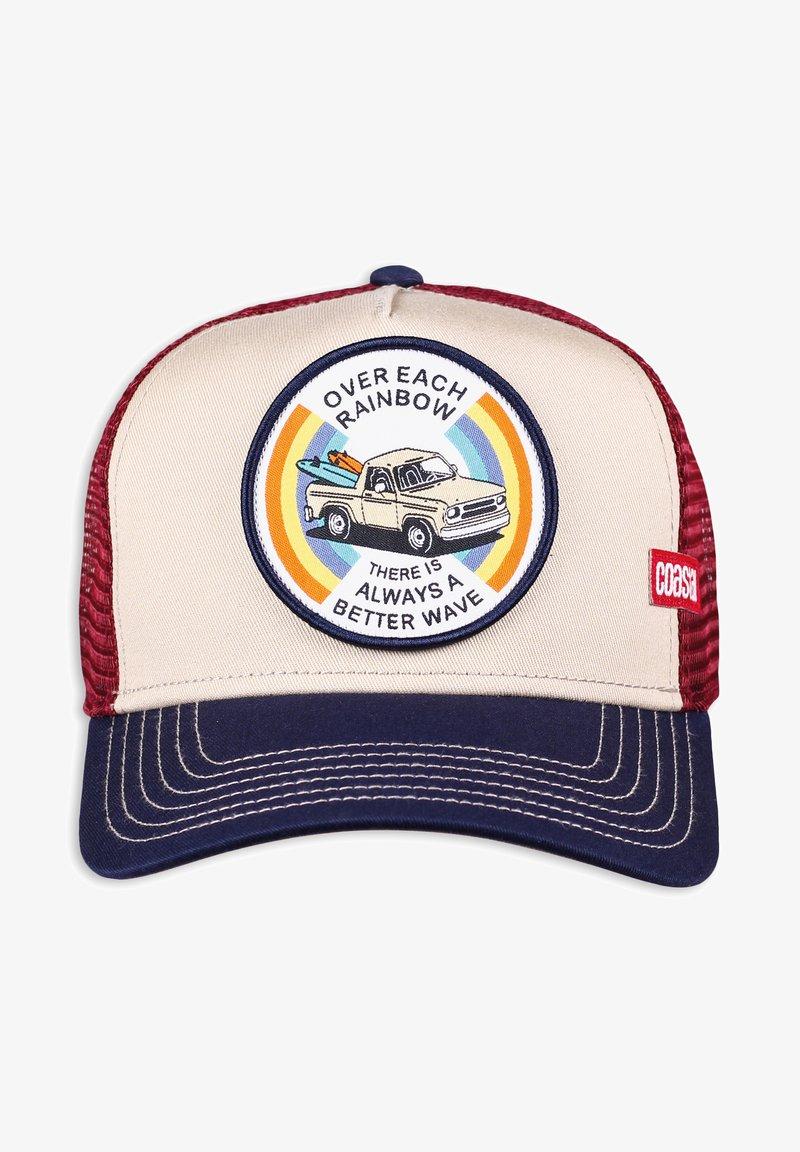 Coastal - Cap - beige/blue/wine