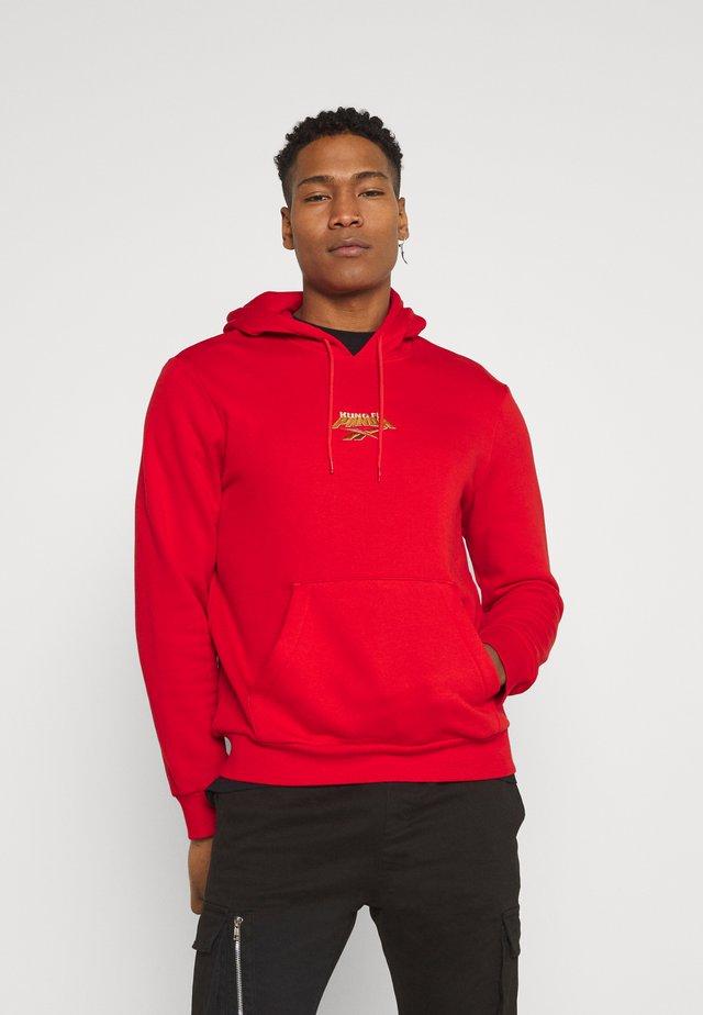HOODIE - Sweatshirt - motor red