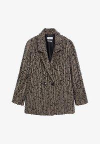 Mango - FOXI - Short coat - schwarz - 7