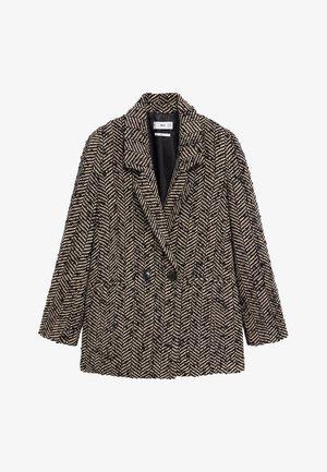 FOXI - Krátký kabát - schwarz