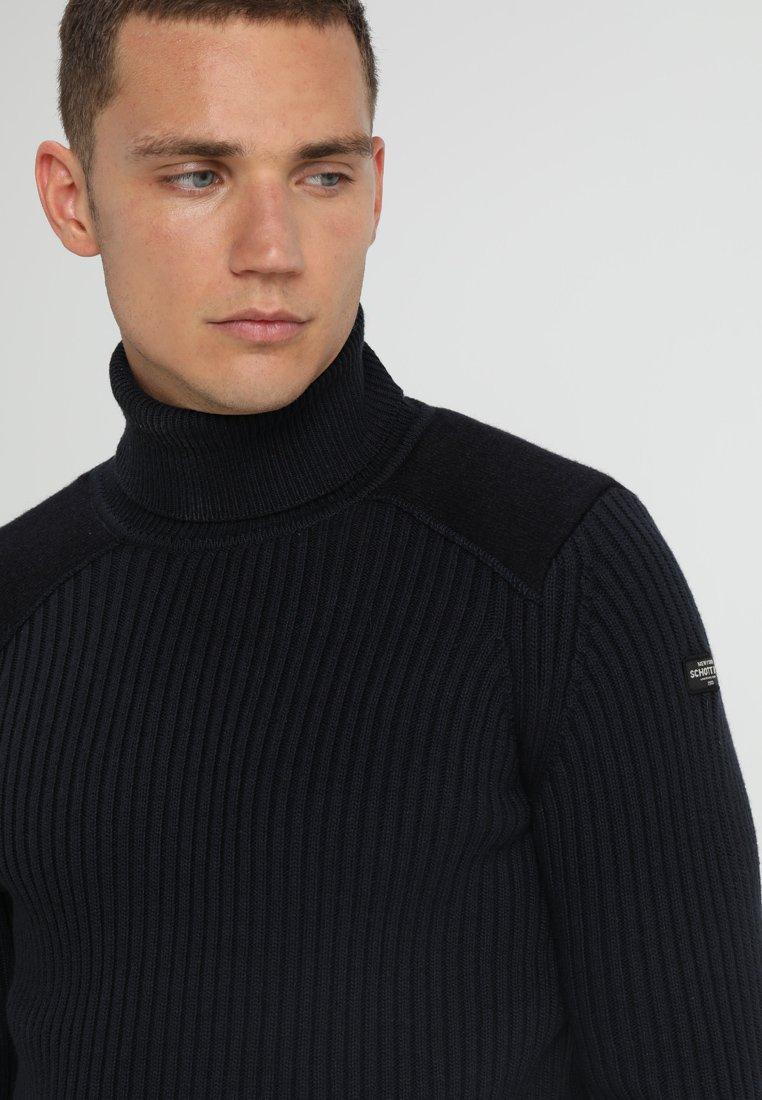 Drop Shipping Shopping Online Men's Clothing Schott YANK Jumper navy xztFsO3KJ e1M4COwYP