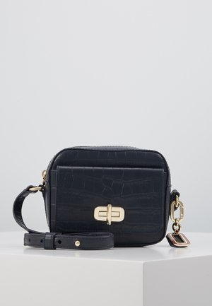 MIX CAMERA BAG - Across body bag - blue