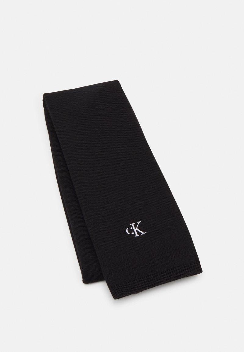 Calvin Klein Jeans - MONOGRAM SCARF UNISEX - Scarf - black