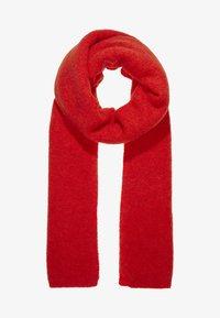 Moss Copenhagen - NILA SCARF - Szal - fiery red - 1