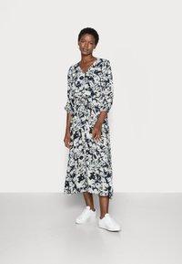 Moss Copenhagen - THESSA JALINA DRESS - Maxi dress - cap blur - 0