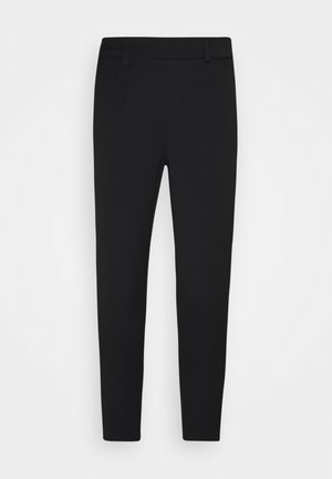 OBJLISA SLIM PANT - Trousers - black